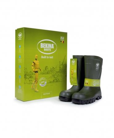 Cizme protectie Bekina MidliteX SolidGrip, O4, verde/negru, cutie