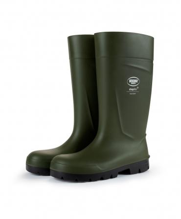 Cizme protectie Bekina Steplite EasyGrip, O4, verde/negru, profil