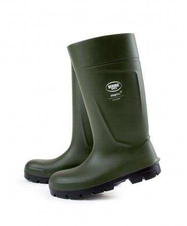 Cizme protectie Bekina Steplite EasyGrip, O4, verde/negru, lateral