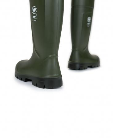 Cizme protectie Bekina Steplite EasyGrip, O4, verde/negru, din spate