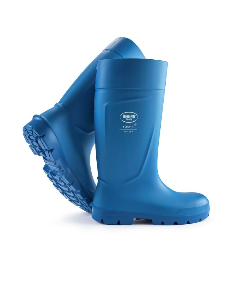 Cizme protectie Bekina Steplite EasyGrip, S4, albastru/albastru