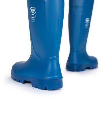 Cizme protectie Bekina Steplite EasyGrip, S4, albastru/albastru, din spate