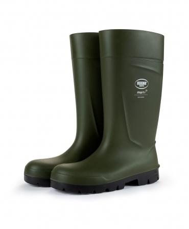 Cizme protectie Bekina Steplite EasyGrip, S5, verde/negru, profil