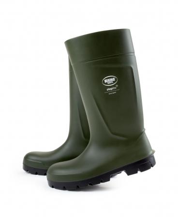 Cizme protectie Bekina Steplite EasyGrip, S5, verde/negru, lateral