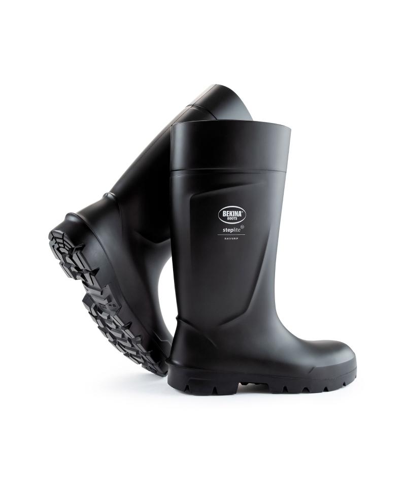 Cizme protectie Bekina Steplite EasyGrip, S5, negru/negru