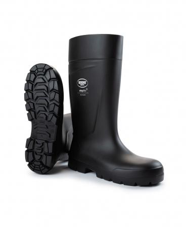 Cizme protectie Bekina Steplite EasyGrip, S5, negru/negru, din unghi