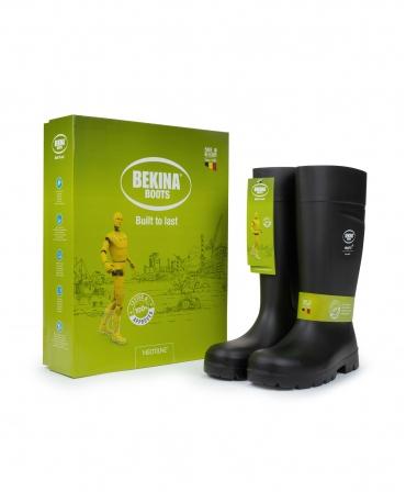 Cizme protectie Bekina Steplite EasyGrip, S5, negru/negru, cutie