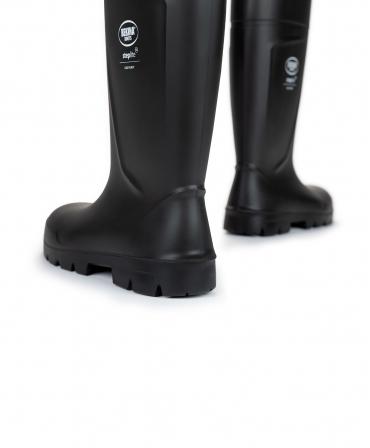 Cizme protectie Bekina Steplite EasyGrip, S5, negru/negru, din spate