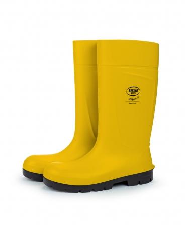 Cizme protectie Bekina Steplite EasyGrip, S5, galben/negru, profil