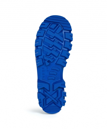Cizme protectie Bekina StepliteX SolidGrip, S4, alb/albastru, talpa
