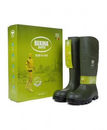 Cizme protectie Bekina StepliteX SolidGrip, S5, verde/negru, cutie