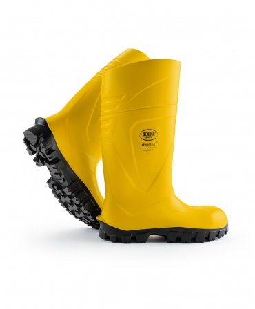 Cizme protectie Bekina StepliteX SolidGrip, S5, galben/negru