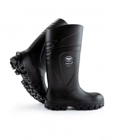 Cizme protectie Bekina StepliteX SolidGrip, S5, negru/negru
