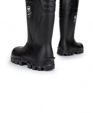 Cizme protectie Bekina StepliteX SolidGrip, S5, negru/negru, din spate