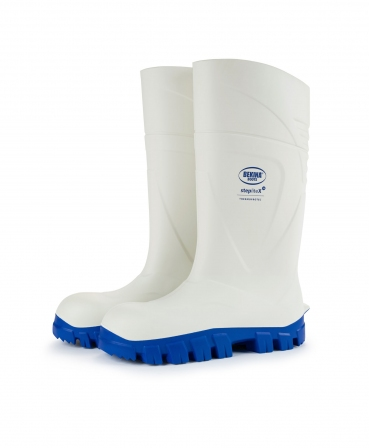 Cizme protectie Bekina StepliteX ThermoProtec, S4, alb/albastru, profil
