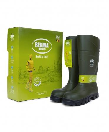Cizme protectie Bekina StepliteX ThermoProtec, S5, verde/antracit, cutie