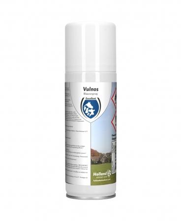 Spray de uz veterinar pentru ingrijirea pielii, Excellent Vulnos Blue, 200 ml