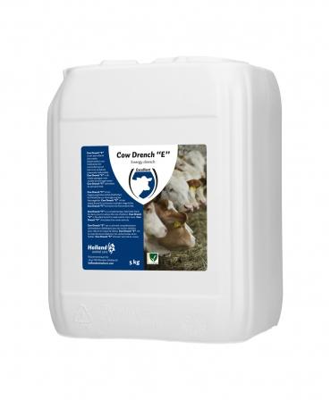 Bautura drench pentru vacile cu cetoza, Excellent Cow Drench E, bidon 5 kg