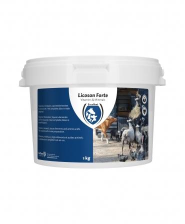 Supliment alimentar pentru animale, Excellent Licosan Forte, galeata 1 kg