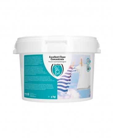 Detergent de rufe super concentrat, Excellent Clean, cutie 3 kg