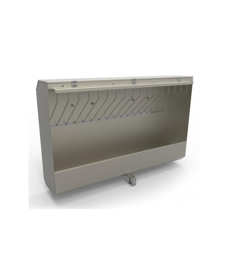 Caseta furaje combinate INOX, CombiFeeder XL pentru boxele comune vitei CalfOTel XL-5 si XL-10
