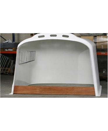 Iesle metalica fan pentru boxe comune vitei CalfOTel XL-5 si XL-10, montata