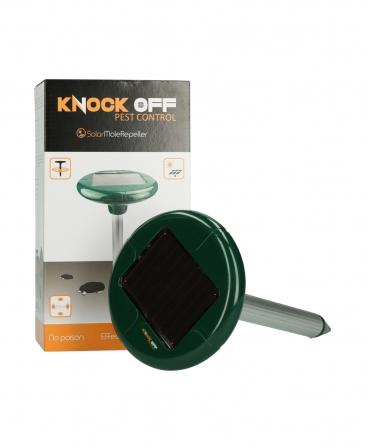 Dispozitiv solar cu ultrasunete pentru alungarea cartitelor, Knock Off