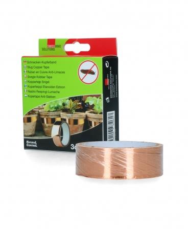 Banda cupru de protectie impotriva melcilor, Swissinno, 5 m x 3 cm, langa cutie