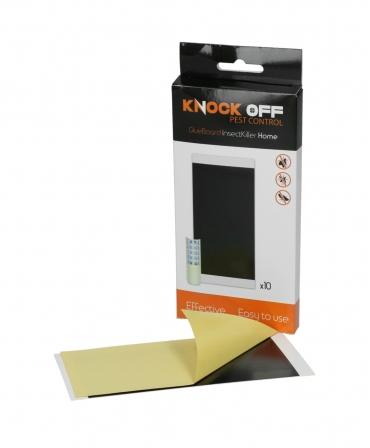 Rezerve cartoane adezive pentru aparatul de protectie impotriva insectelor, Knock Off InsectKiller Home, langa cutie