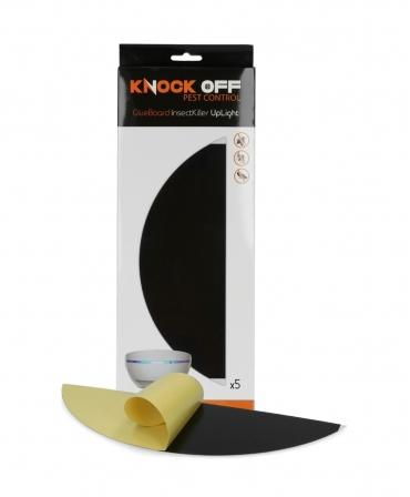 Rezerve cartoane adezive pentru aparatul de protectie impotriva insectelor, Knock Off InsectKiller UpLight, langa cutie