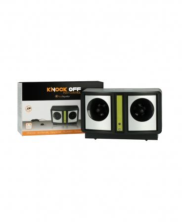Dispozitiv cu ultrasunete pentru alungarea daunatorilor, Knock Off, langa cutie