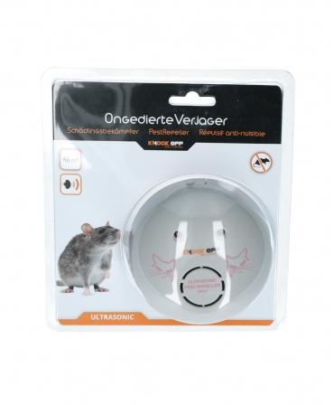 Dispozitiv cu ultrasunete pentru alungarea rozatoarelor, Knock Off