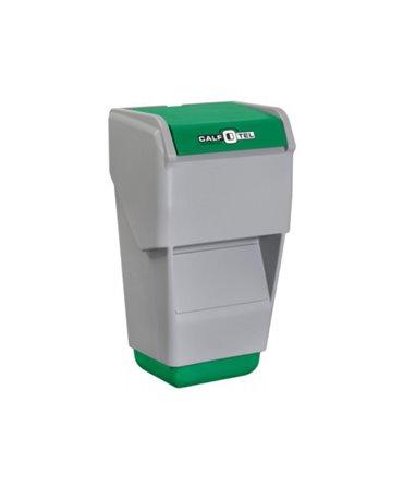 Caseta plastic furaje combinate CombiFeeder pentru cusetele individuale vitei CalfOTel fata