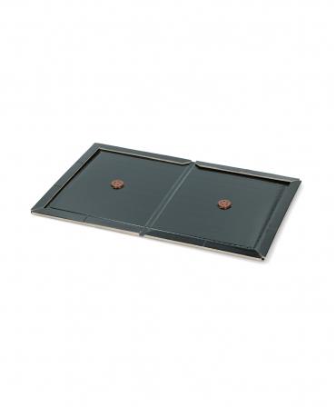 Placa carton cu adeziv pentru insecte, Knock Off, neagra