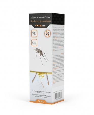 Solutie pentru controlul inmultirii larvelor de tantari, Knock Off, 50 ml