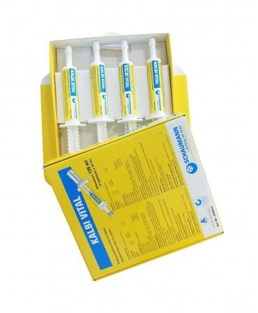 Pasta cu imunoglobuline si probiotice pentru vitei, Schaumann Kalbi Vital, cutie 4 seringi x 30 ml