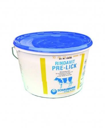 Bloc de lins cu vitamine si oligoelemente pentru vacile intarcate, Schaumann Rindavit Pre-Lick