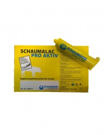 Pasta cu imunoglobuline si probiotice pentru purcei, Schaumann Schaumalac Pro Aktiv, cutie 10 seringi x 80 ml