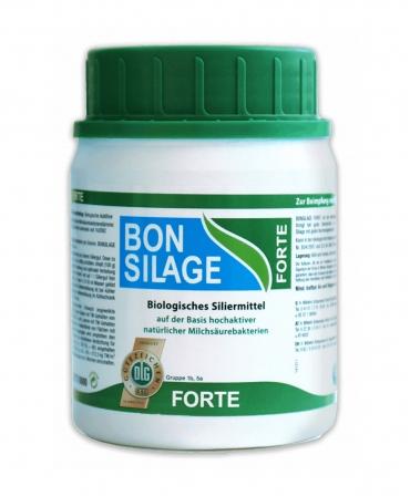 Inoculant pentru silozuri de lucerna si trifoi cu SU mai mica de 30%, Schaumann Bonsilage Forte, cutie 100 g