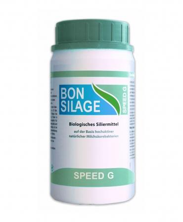 Inoculant cu perioada redusa de maturare pentru silozuri de iarba si trifoi, Schaumann Bonsilage Speed G, cutie 100 g