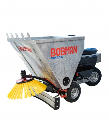 Echipament multifunctional pentru intretinerea cusetelor, Bobman Frontload, galvanizat, 3WD
