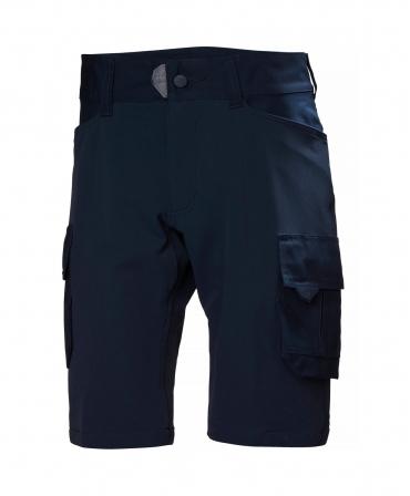 Pantaloni de lucru scurti Helly Hansen Chelsea Evolution Service, bleumarin, fata