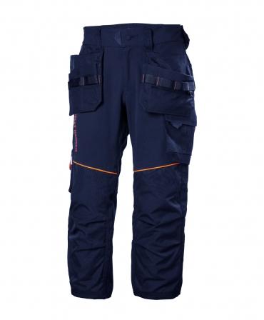Pantaloni de lucru trei sferturi Helly Hansen Chelsea Evolution Pirate, bleumarin, fata