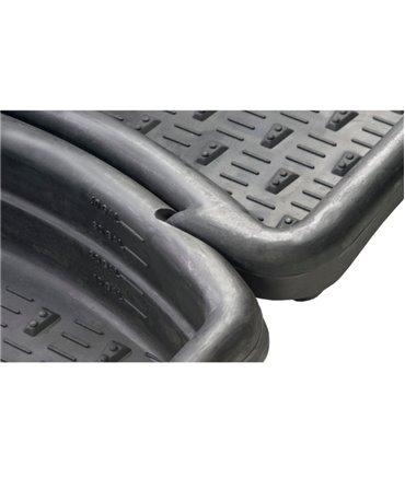 Baie de picioare CalfOTel 205x81x17 cm, detaliu imbinare