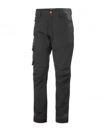 Pantaloni de lucru Helly Hansen Kensington Service, negri, fata