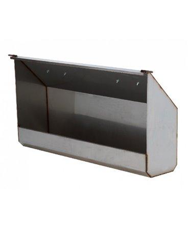 Troaca furaje INOX, pentru boxele comune vitei CalfOTel XL-5 si XL-10