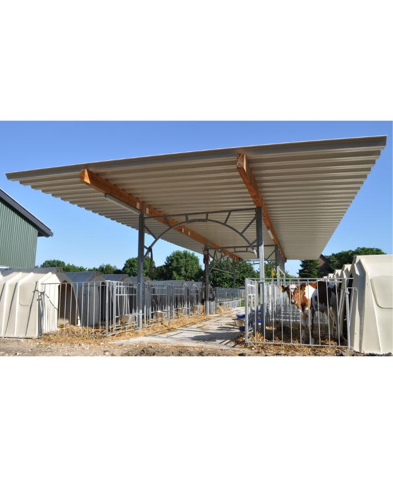 Acoperis veranda vitei pentru sistemul Calf Garden sau MultiMAX